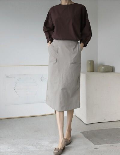 pocket pra skirt