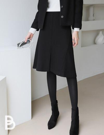 line slit skirt (2 size)